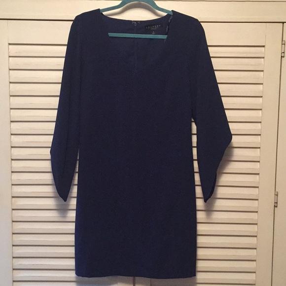 Laundry By Shelli Segal Dresses & Skirts - Laundry by Shelli Segal retro Navy dress